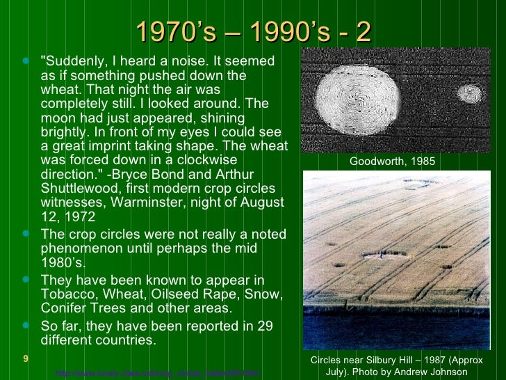 mystery of crop circles research paper Unsolved mystery research project and rubric  mrs ongaro language arts 9r room 336f high school research unsolved mystery research  crop circles.
