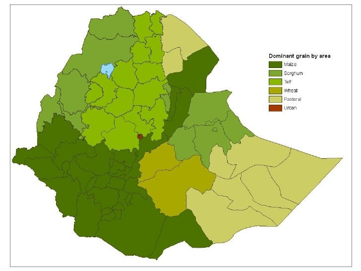 Crop Production in Ethiopia: A Spatial–Structural Analysis