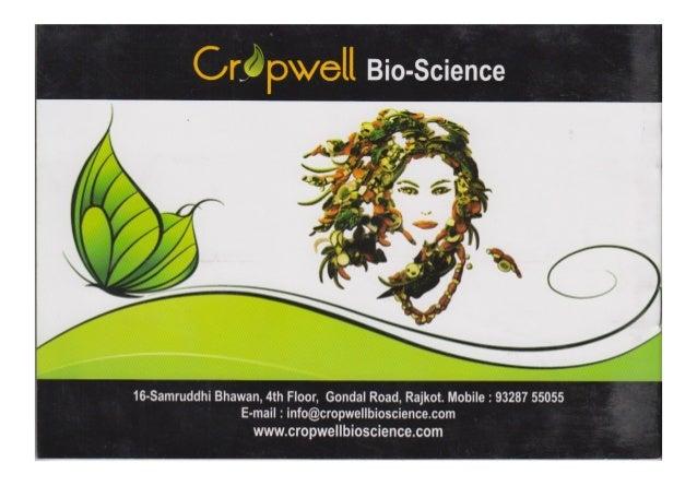 Cropwell Bioscience, Rajkot, Bio Product & Pesticide