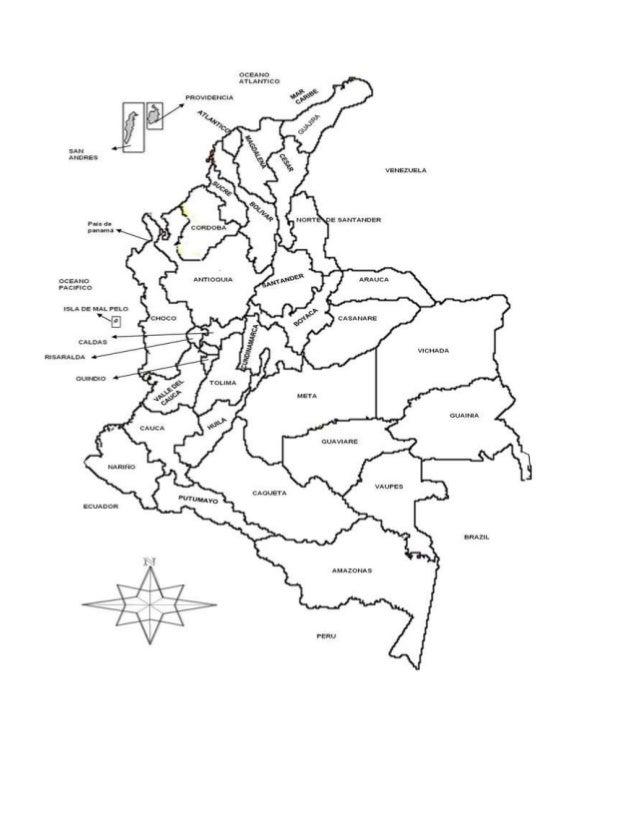 croqui mapa Croquis de mapa politico de colombia croqui mapa