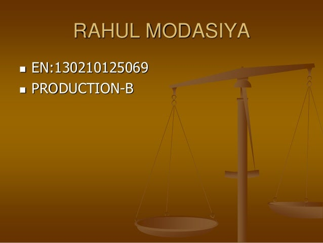 RAHUL MODASIYA  EN:130210125069  PRODUCTION-B