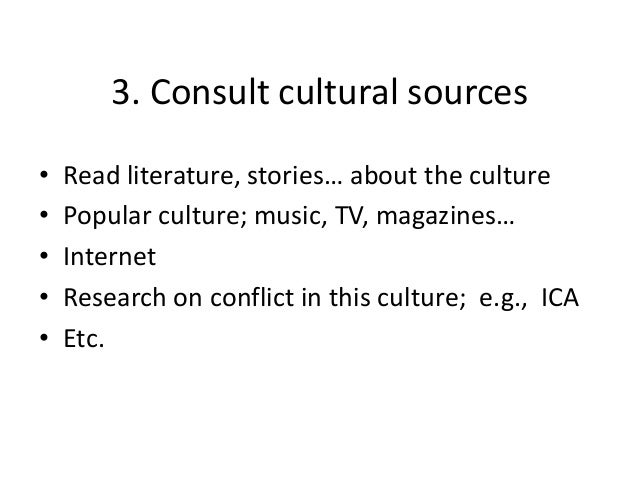 cultural conflict Cross cultural ethical conflicts in international business commerce essay some of authors have been said about cross cultural intelligence and ethical conflicts.
