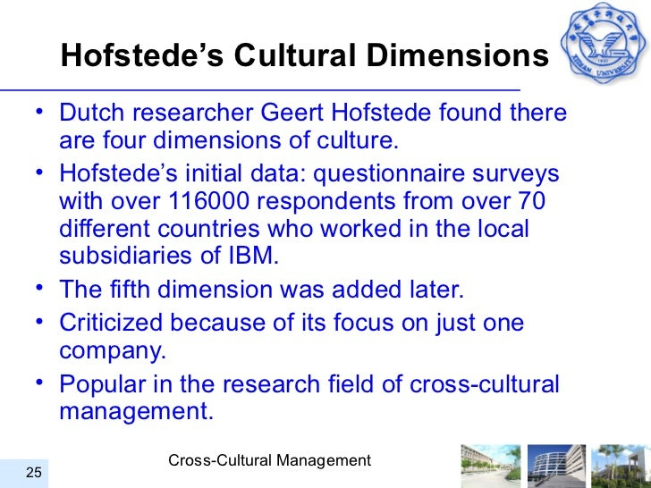hofstede's culture dimensions Dimensions have been frequently used to describe cultures  japan as a homogeneous culture from hofstede's (1983)  dimensions of culture 163.