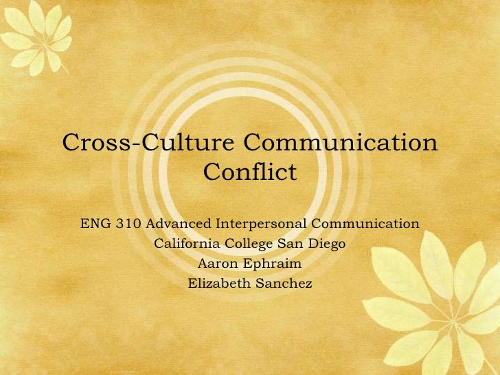 communication conflict and culture pdf