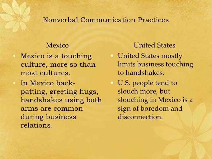 Intercultural communications united states vs mexico