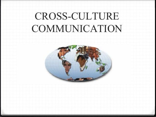 CROSS-CULTURECOMMUNICATION