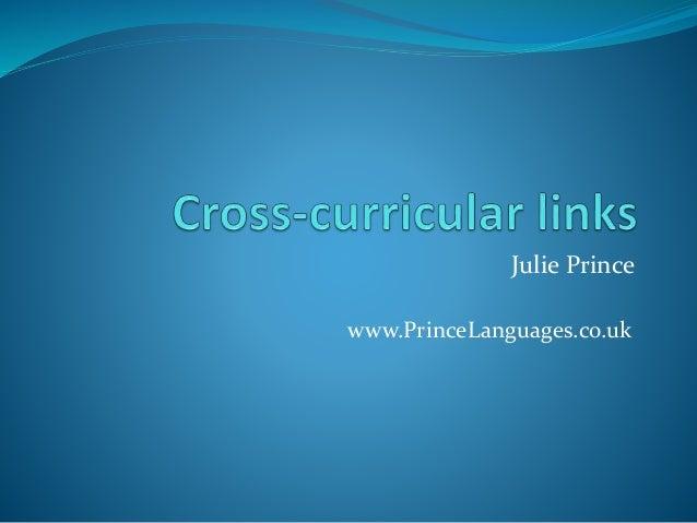 Julie Prince  www.PrinceLanguages.co.uk