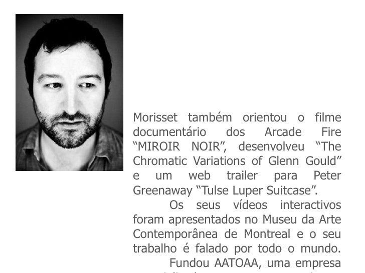 Cross media for Miroir noir arcade fire