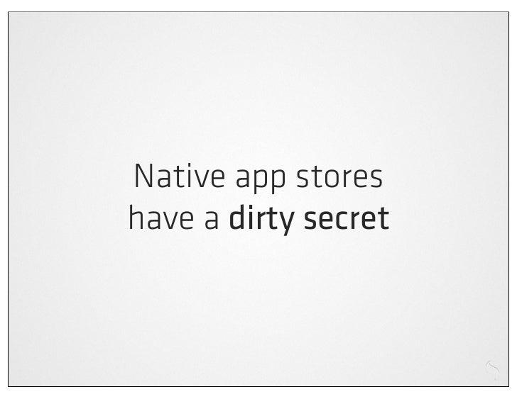 Cross platform mobile web apps