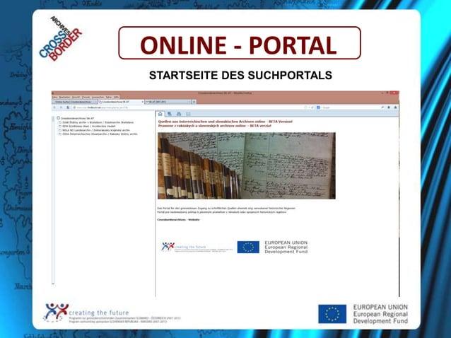 ONLINE - PORTAL STARTSEITE DES SUCHPORTALS
