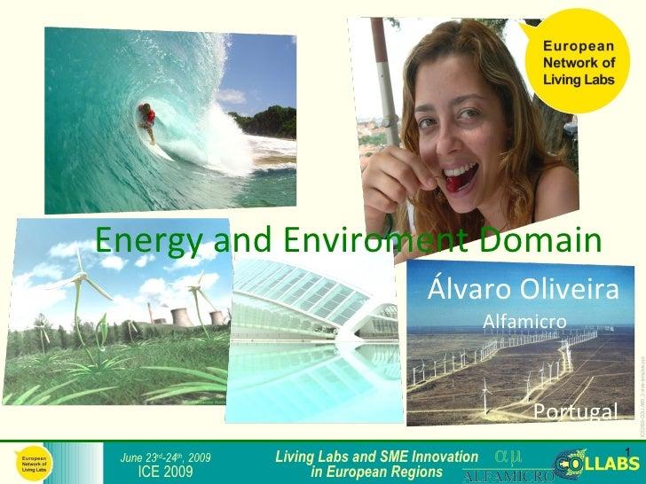 Energy and Enviroment Domain                                               Álvaro Oliveira                                ...