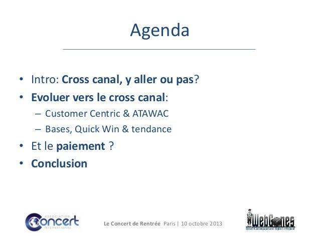 Cross canal et e payment dans le projet d'entreprise  Slide 3