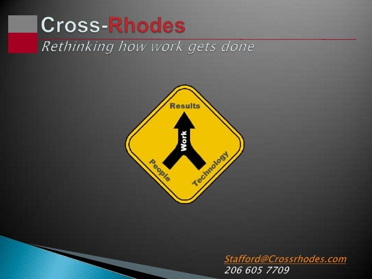 Stafford@Crossrhodes.com 206 605 7709