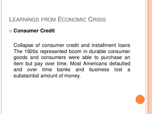 an analysis of the financial crisis There were three causes of the 2008 financial crisis: deregulation, securitization and the fed's poor timing in lowering and raising interest rates.