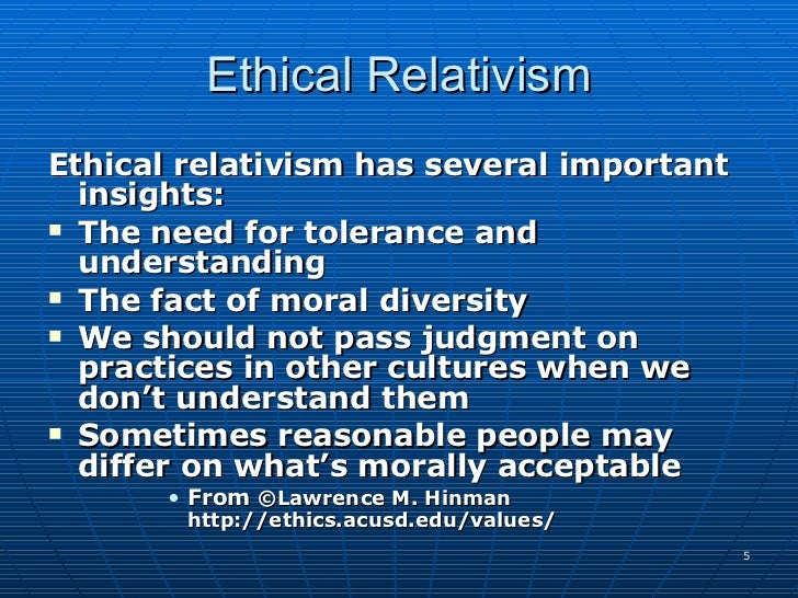 understanding cultural relativism
