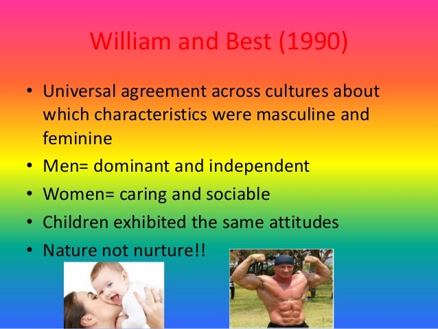 cross cultural studies in gender Introduces students to the relationship between gender, sexuality and culture it  adopts a cultural studies approach to understanding the debates and issues.