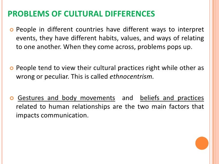 cross cultural communication in business world <br > 11 problems of cultural