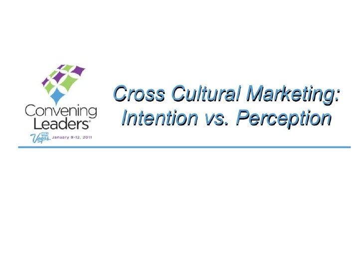 Cross cultural advertising