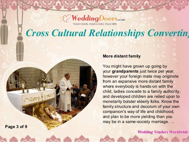 Cross cultural dating christian