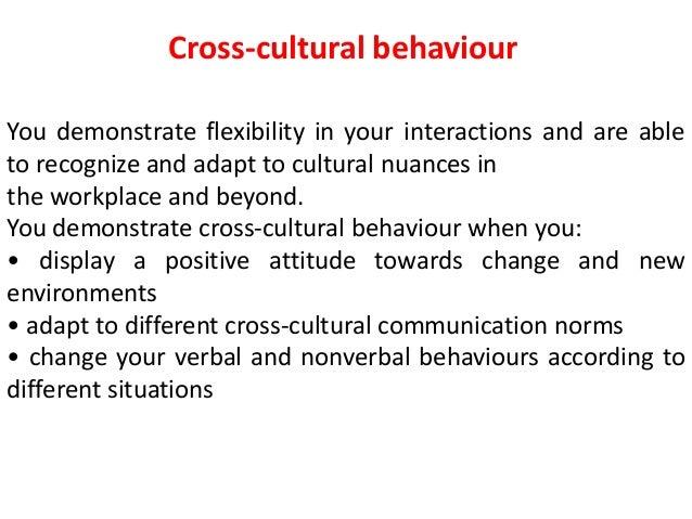 Cross culture dynamics