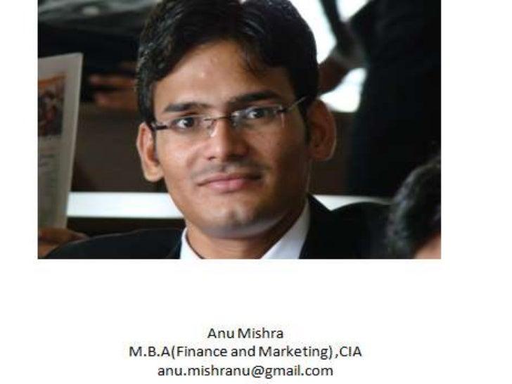 Presented by ANU MISHRA MBA 3rd sem                                      1                 BU