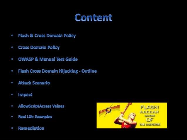 Cross Domain Hijacking - File Upload Vulnerability Slide 2