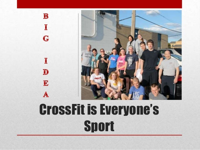 crossfit marketing plan With crossfit being as much a cultural movement as it is a style of exercise, it  was imperative that our creative execution resonated with our audience.