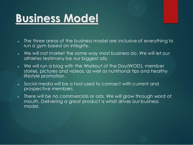 Crossfit Business Plan Example Reebok Pdf