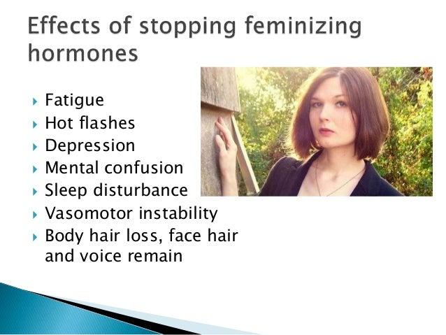 Feminizing hormones men