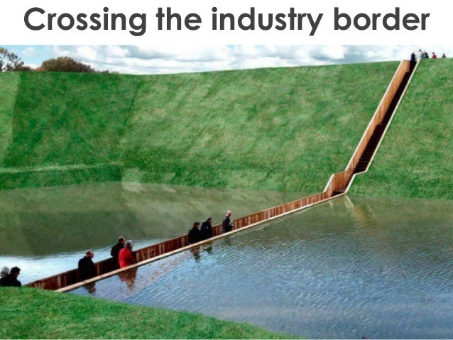 Crossing the industry border