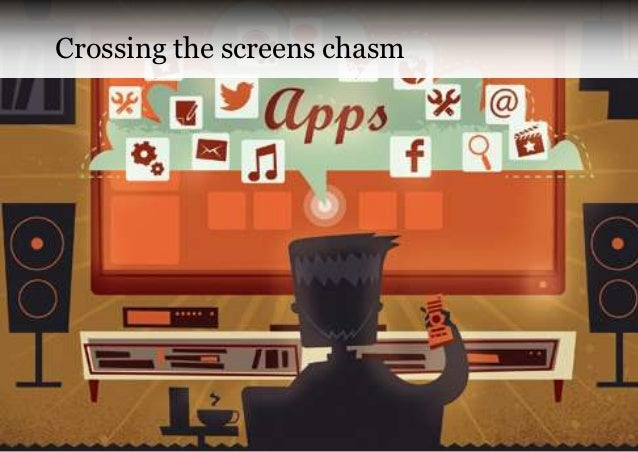 Crossing the screens chasm                             Copyright VisionMobile 2012