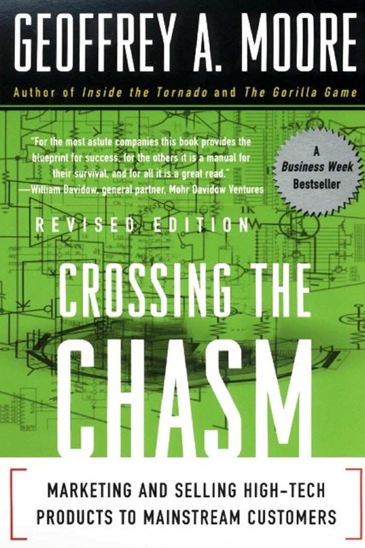 Crossing the chasm   marketing and selling high-tech products to mainstream customers