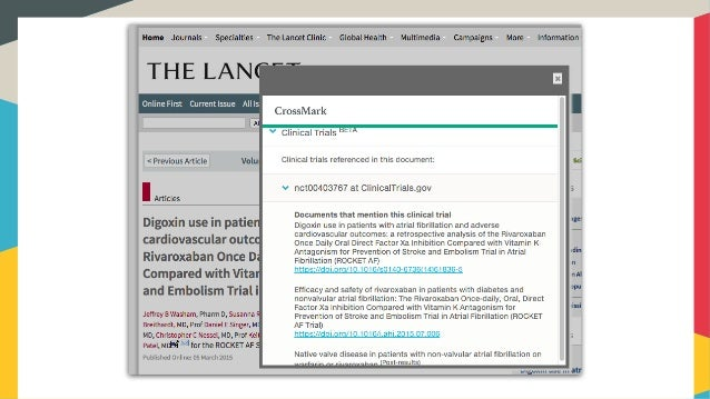 Crossmark Update Webinar