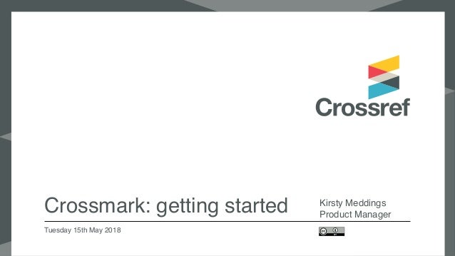 Cross mark webinar how to Slide 2