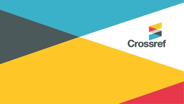 Crossmark: getting started Kirsty Meddings Product Manager Monday 20th November 2017