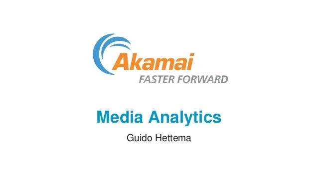 Media Analytics  Guido Hettema