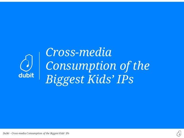 Dubit -Cross-mediaConsumption of theBiggest Kids' IPsCross-media Consumption of the Biggest Kids' IPs