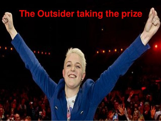 The Outsider taking the prize                                15