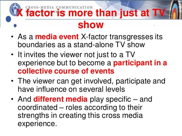 Rich media experience• The cross-media story about Harry Potter is not  told by one single media which the other media  re...