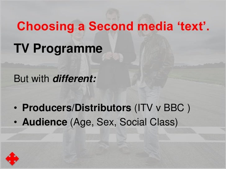 Platforms ResearchText One: Top Gear• The TV Programme• The BBC Website/YouTube Site• The Magazine