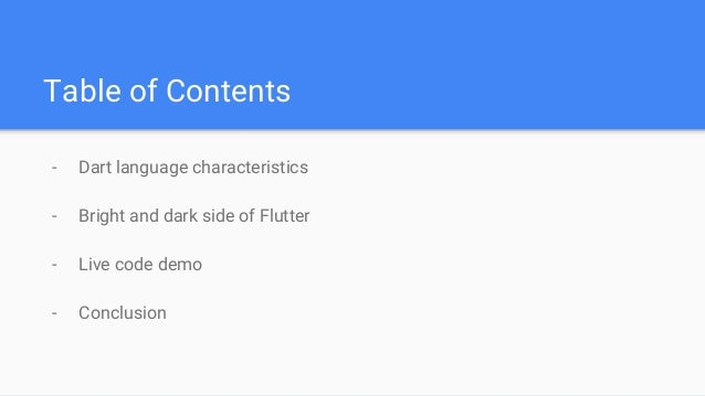 Cross platform app development with flutter