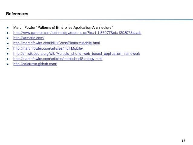 patterns of enterprise application architecture pdf github
