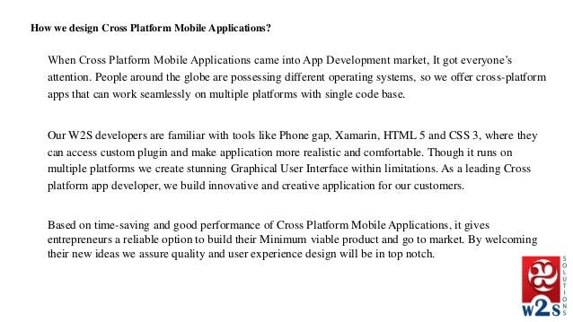 When Cross Platform Mobile Applications came into App Development market, It got everyone's attention. People around the g...