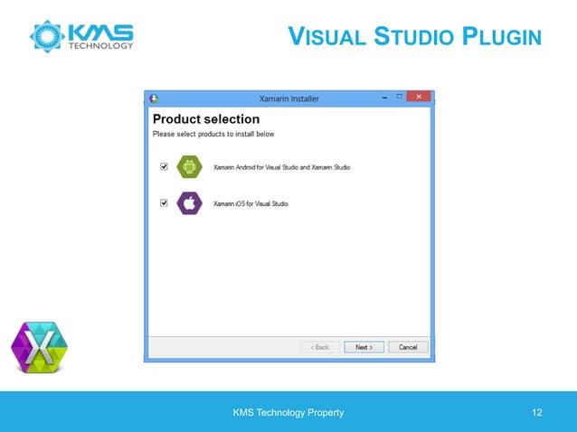 VISUAL STUDIO PLUGIN KMS Technology Property 12