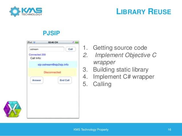 Pjsua2 Call Example
