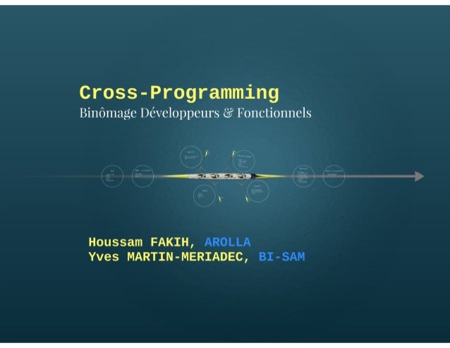 Cross-Programming : Forging the future of programming