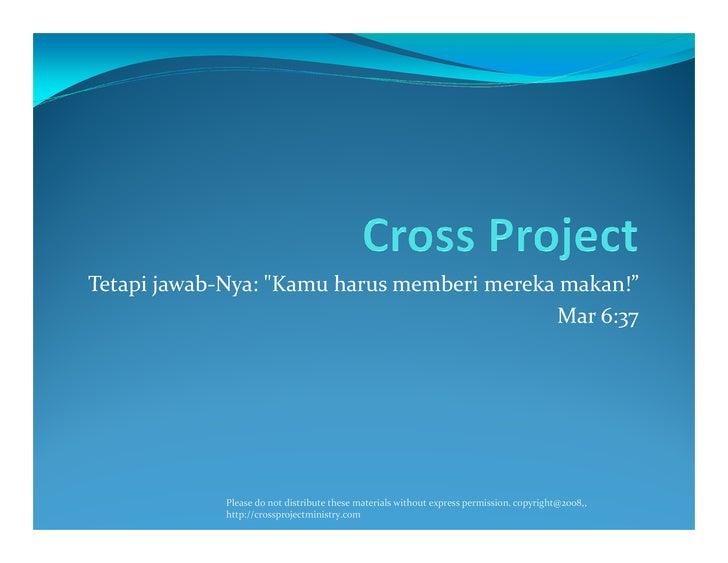 Cross Project Version 2.5