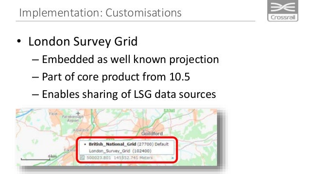 Implementation: Customisations Widgets: Ground Movement Reporting