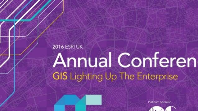 Crossrail - Esri UK Annual Conference 2016