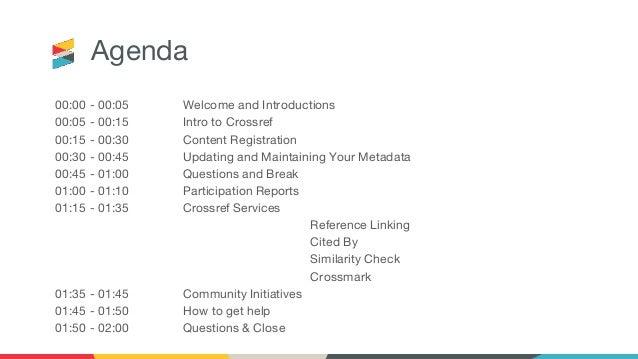Crossref LIVE UK Online Slide 3